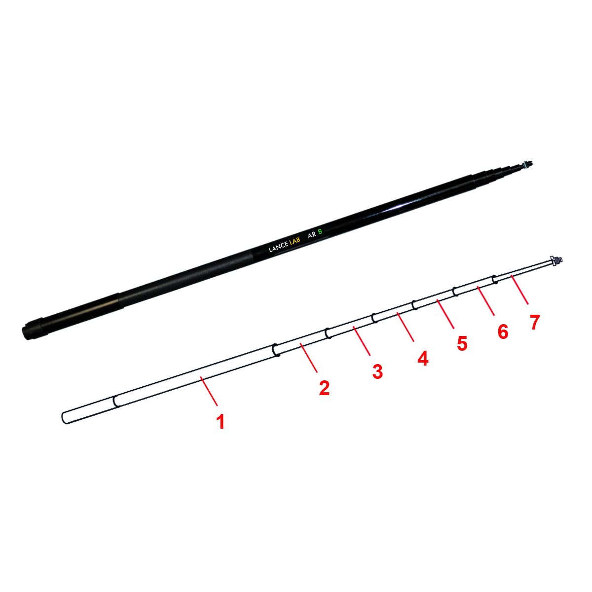 Replacement Lance Lab AR 8 Pole Sections