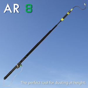 Lance Lab AR 8 - The perfect tool for dusting at height